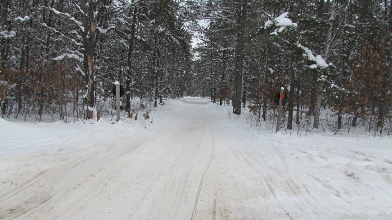 Trail 679 at 612, West of Frederic, 17 January 2016